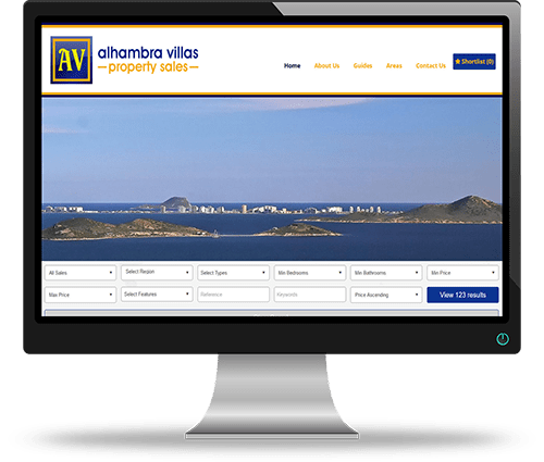 Property Websites by Alphashare Solutions - Alhambra Villas