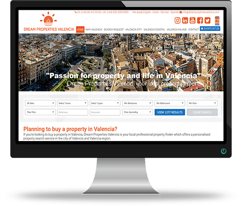 Property Websites by Alphashare Solutions - Dream Properties