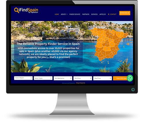 Property Websites by Alphashare Solutions - iFindSpain
