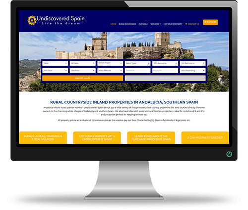 Property Websites by Alphashare Solutions - Undiscovered Spain